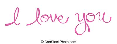 I Love You in Pink