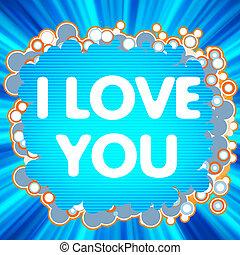 I Love You. love logo for lovers. EPS 8