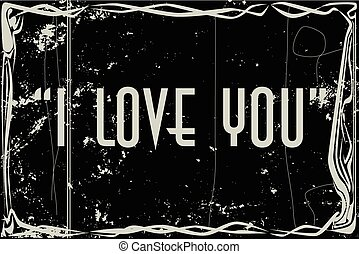 I Love You Movie Frame