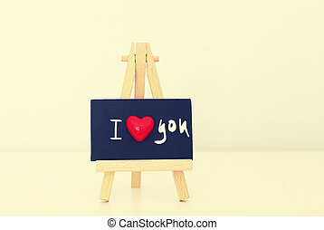 I love you - Saint Valentine's greeting card I Love you