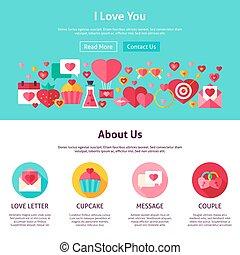 I Love You Website Design