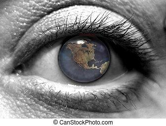 i, olho