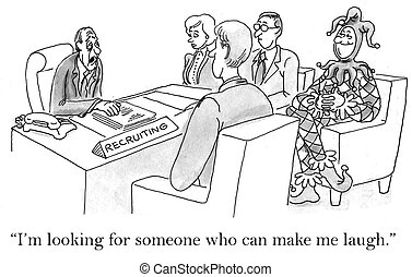 """I want someone who can make me laugh - """"I'm looking for..."""
