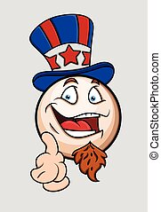 I Want You - Patriotic Uncle Sam