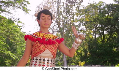 Iban tribal woman