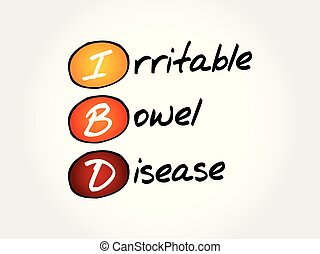 IBD - Inflammatory Bowel Disease, acronym