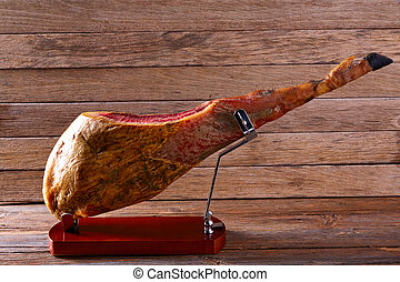 Iberian ham pata negra from Spain