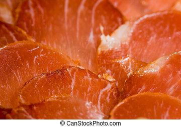 Iberian pork loin - Iberian ready pork loin to taste, cut in...