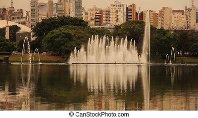 ibirapuera, paulo, parc, sao