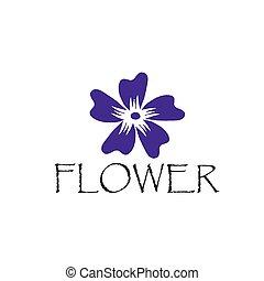 ibisco, astratto, fiore