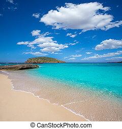 Ibiza Cala Conta Comte beach in Sant Josep - Ibiza Cala...