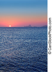 ibiza, formentera, tramonto, es vedra