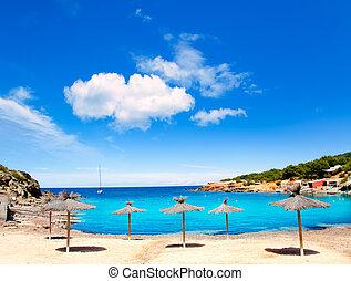 Ibiza island Canal d en Marti Pou des Lleo beach - Ibiza ...