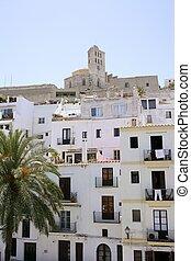 Ibiza Mediterranean island architecture houses