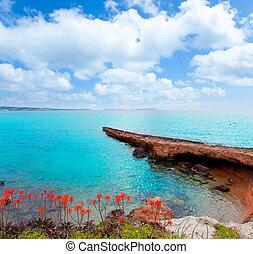 Ibiza San antonio Abad Sant Antoni de Portmany mediterranean...