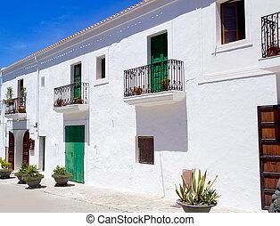 Ibiza Sant Joan Labritja San Juan white houses - Ibiza Sant ...