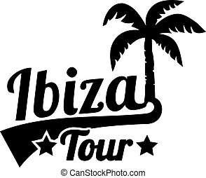 Ibiza tour with palm