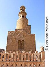Ibn Tulun Spiral Minaret