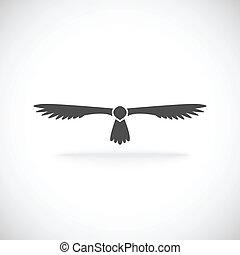 icône aigle