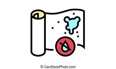 icône, animation, couleur, papier peint, non-waterproof