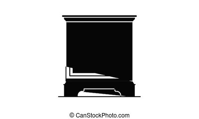 icône, animation, nightstand
