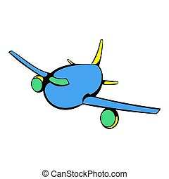 Avion voyager ic ne dessin anim style isol images de stock rechercher des photos - Dessin avion stylise ...