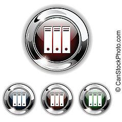 icône, button., vecteur, illustra, fichier