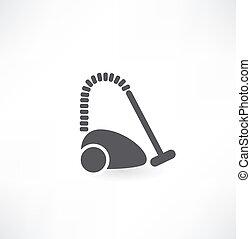 icône, cleaner., vide