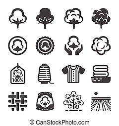 icône, coton
