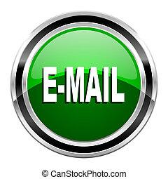 icône, courrier