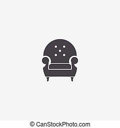 icône, fauteuil