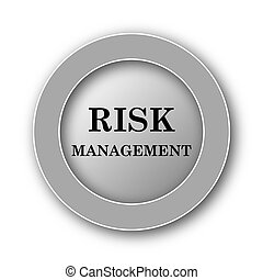 icône, gestion, risque