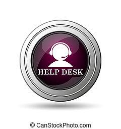 icône, helpdesk