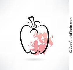 icône, paprika