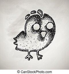 icône poulet