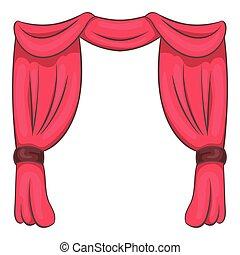 vecteurs de rideau dessin anim fond csp31687738 rechercher des clip arts des illustrations. Black Bedroom Furniture Sets. Home Design Ideas