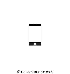 icône, smartphone