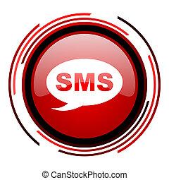 icône, sms