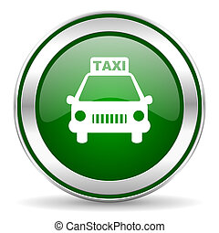 icône, taxi