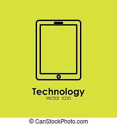 icône, technologie