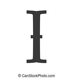 icône, texte, vecteur, faisceau, insertion