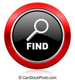 icône, trouver