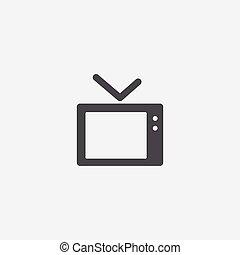 icône, tv