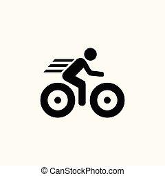 icône, vélo