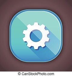 icône, vecteur, options