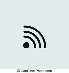 icône, wi-fi