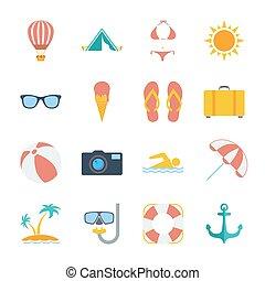 icônes, été