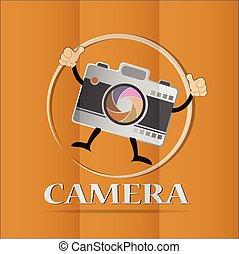 icônes, appareil-photo vidéo