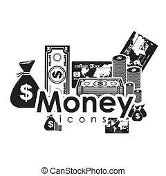 icônes, argent