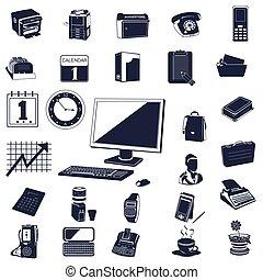 icônes bureau